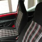 Sitzbezüge im GTI Stoff